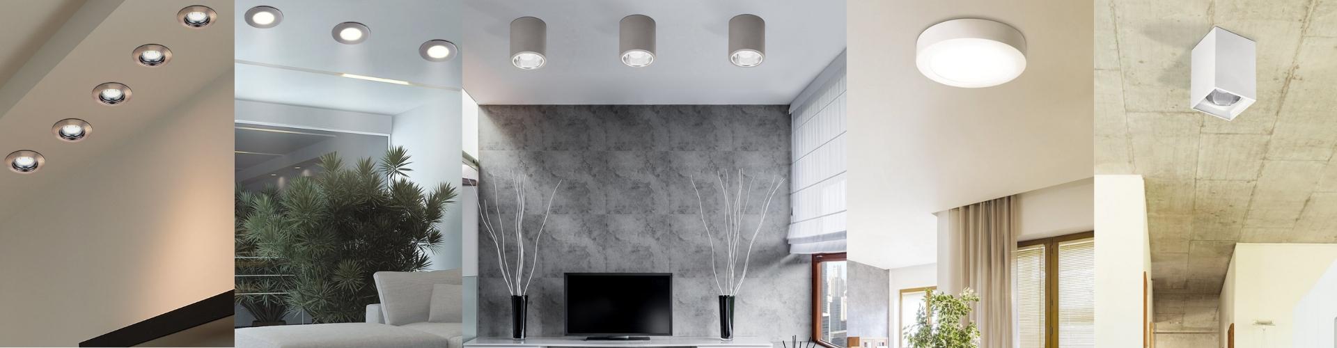 Ráépíthető és Beépíthető lámpa