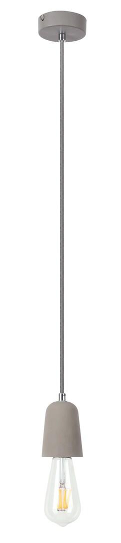 Rábalux 2520 Luke, minimalista stílusú beton függeszték E27 MAX 40W beton