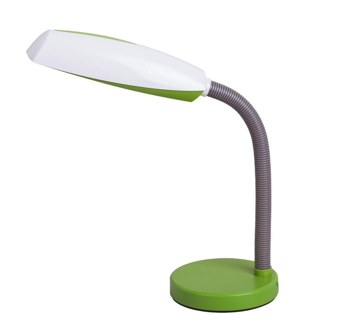 Rábalux 4154 Dean, íróasztali lámpa, E27 1x MAX 15W, zöld/ fehér