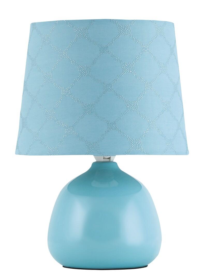 Rábalux 4382 Ellie, kerámia asztali lámpa E14 MAX 40W kék